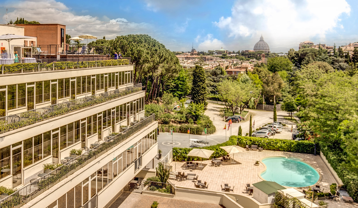 Cardinal Hotel St Peter - Hotel with Roof Garden in Rome